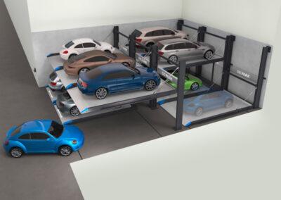 Parkovací systémy DE-PARK