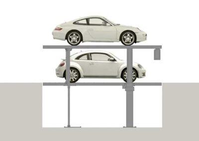 Parkovací systémy DE-58