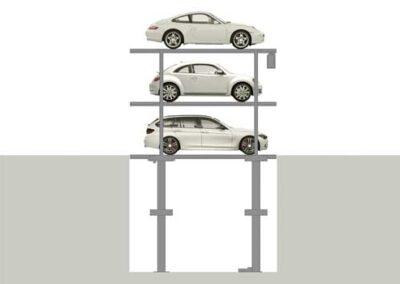 Parkovací systémy DE-59