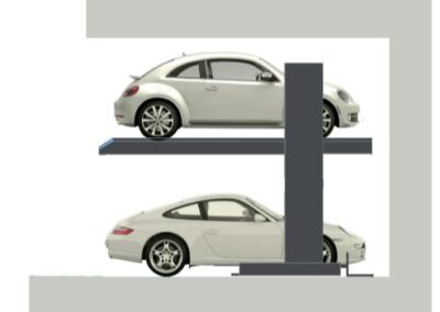 Parkovací systémy DE-30